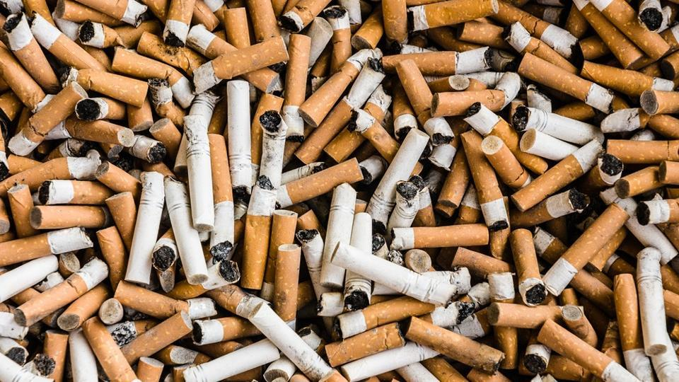 About six trillion cigarettes are produced every year, leading to more than 1.2 million tonnes of cigarette butt waste.