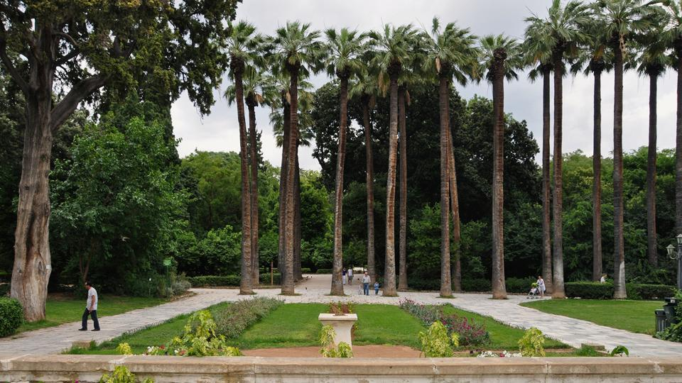 The garden was commissioned by Queen Amalia, queen consort of Greece and spouse of King Otto.