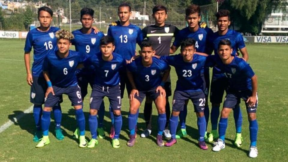 Indias FIFA U World Cup Team Plays Draw Vs Chile In Four - Side world cup fifa dont want see