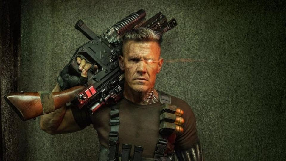 Josh Brolin is all beefed up to play Cable.