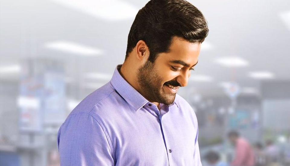 Jr NTR as Lava Kumar from upcoming Telugu film Jai Lava Kusa.