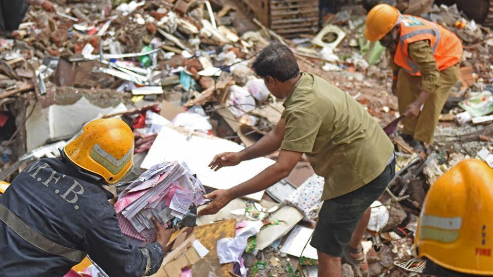 Four-storey Sai Siddhi in Ghatkopar collapsed on July 25, killing 17 and injuring 13 people.