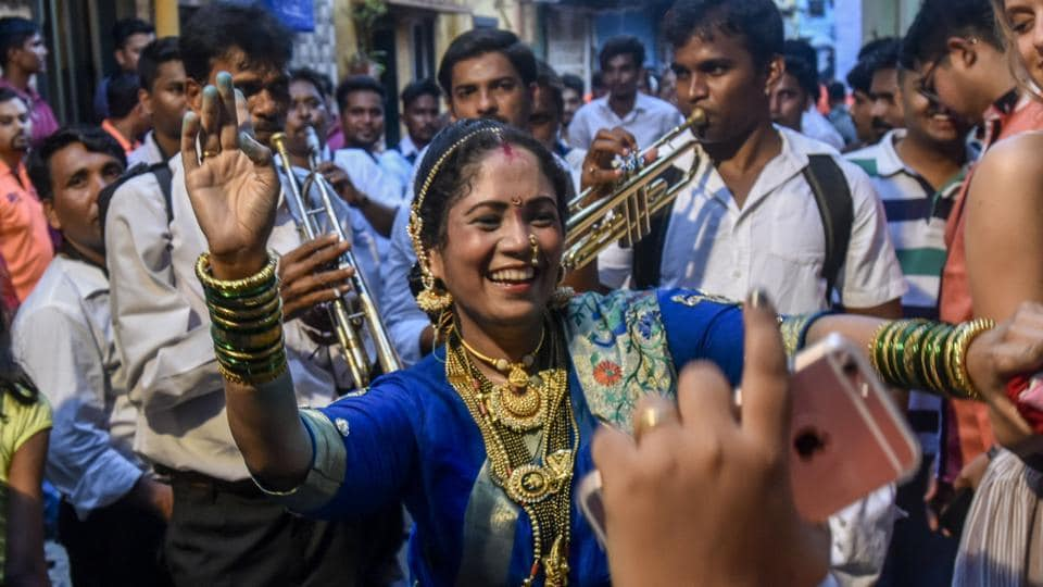 Nairyal Purnima celebrations began a day early in Worli Village on Sunday.