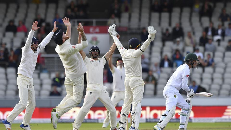 England won the 4th test match on day four and wrapped up the series 3-1.