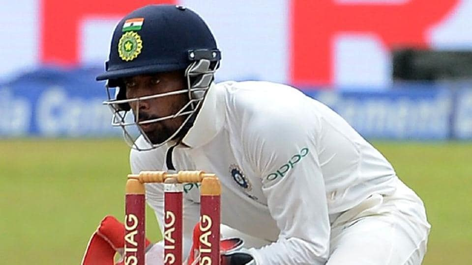 "Wriddhiman Saha is ""right up there in world cricket among the very best"" as a wicketkeeper, according to Virat Kohli."