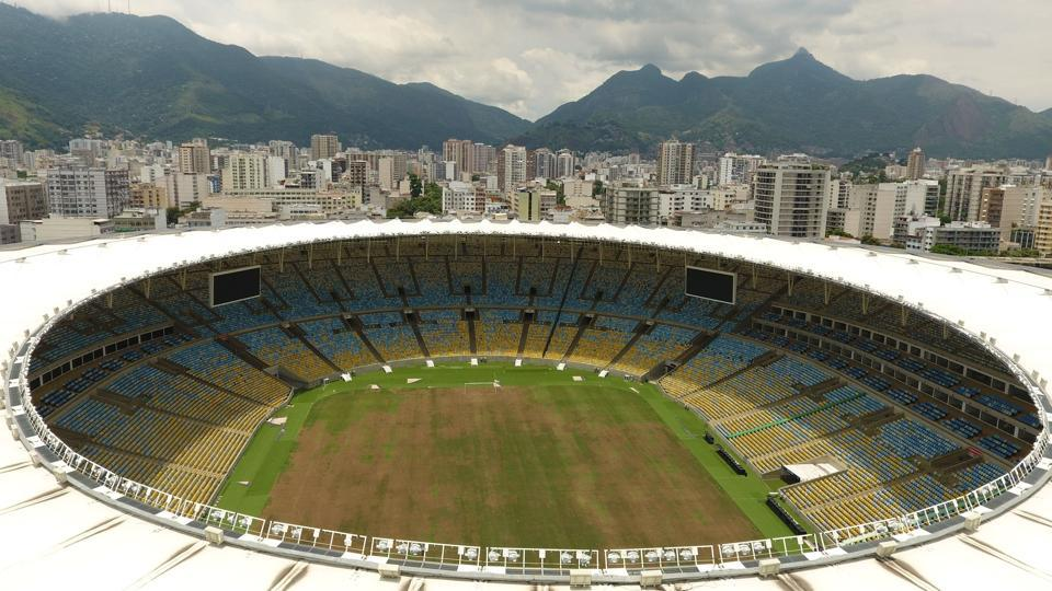 One year since the 2016 Brazil Olympics Games, most of the venues in Rio de Janeiro lie in a state of despair cocooned by an eerie silence. Multiple venues stand looted, with their windows smashed and seats torn up. In January, electricity was cut off in response to unpaid bills by the local electric utility company raising questions about the promises made by authorities that the Rio and its residents would benefit from the sports infrastructure.   (AFP)