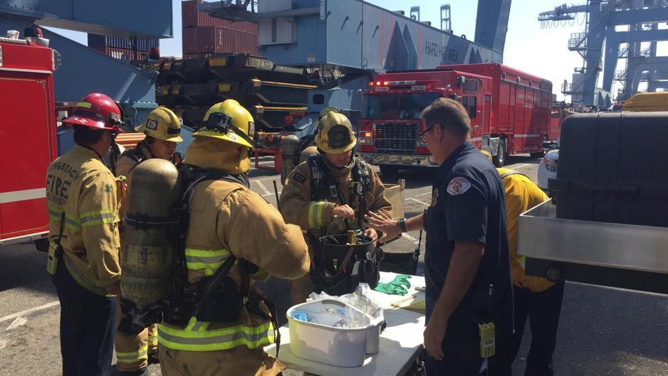 hazardous material,hazardous leak,Long Beach