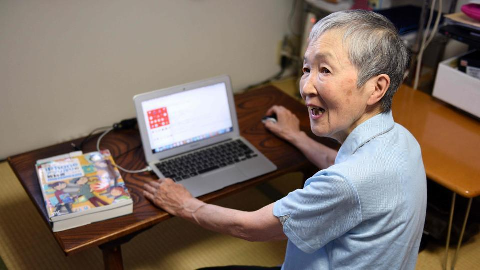 Masako Wakamiya, an 82-year-old programmer is one of the world's oldest iPhone app developers.