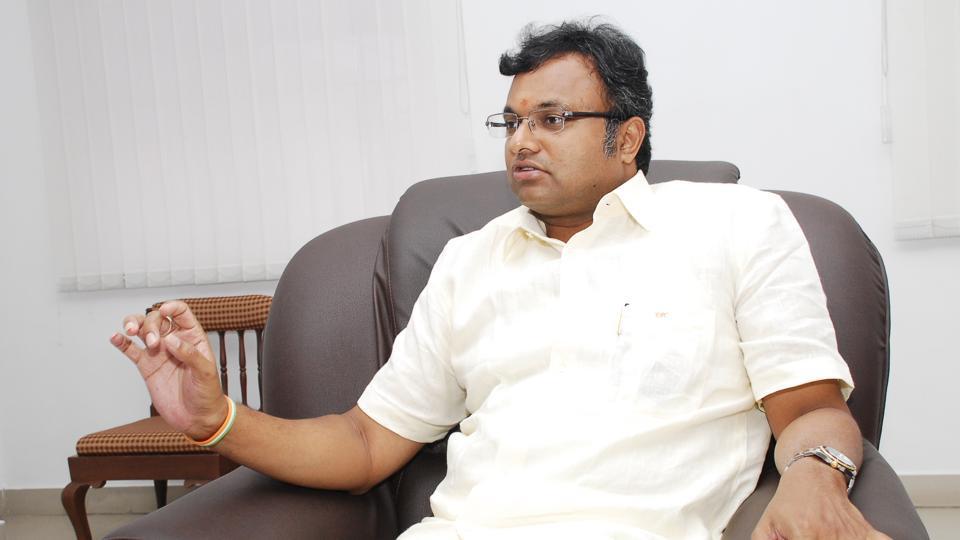 Karti Chidambaram,CBI,G Rajagopalan