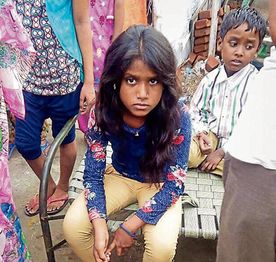 """The girl, Neetu, of Nirmal Nagar in the Dugri area of Ludhiana, said she saw a """"cat man"""" on her cot and found her hair chopped around 4pm."""