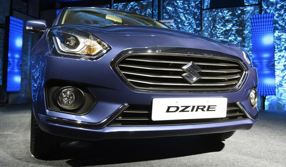 The move away from small cars, such as Alto and WagonR, to Swift and Dzire (in photo) as a first car points to Maruti Suzuki's increasing ability to sell premium models.