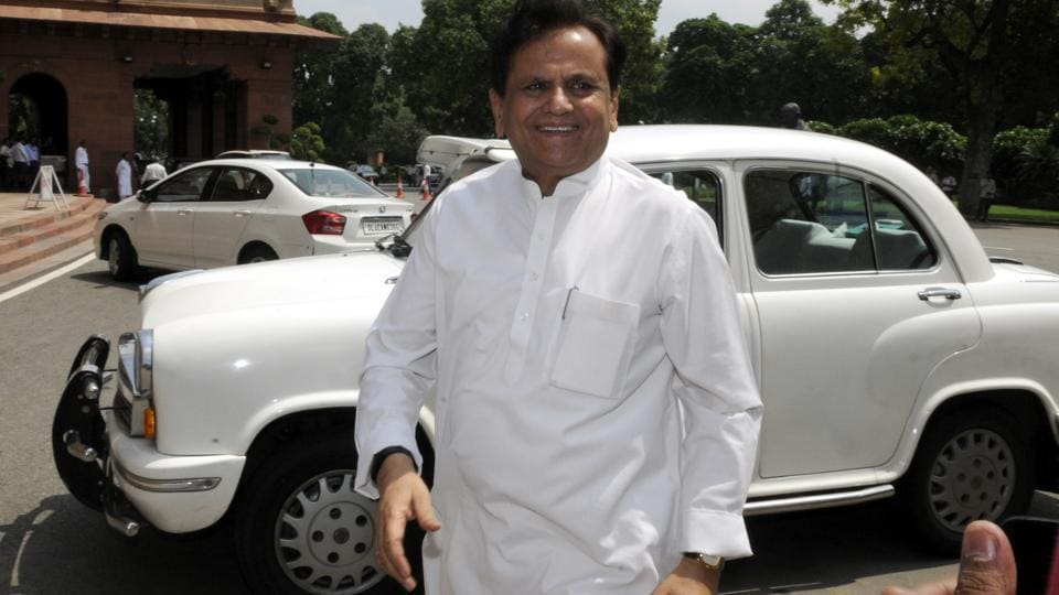 Congress leader Ahmed Patel.
