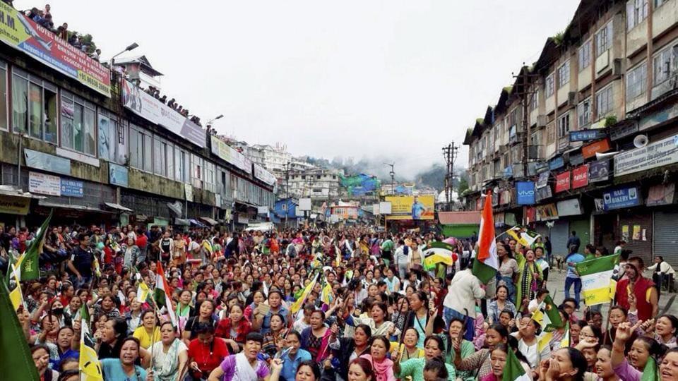 Gorkhaland,Darjeeling,West Bengal