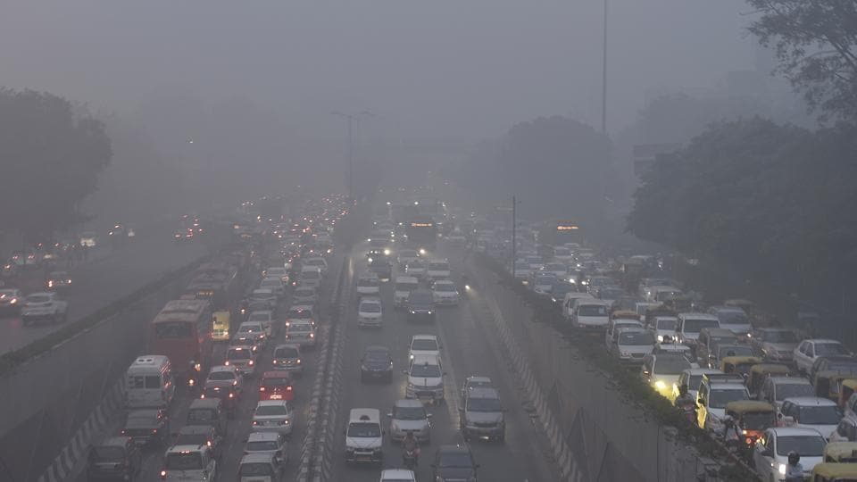 Image result for air pollution delhi