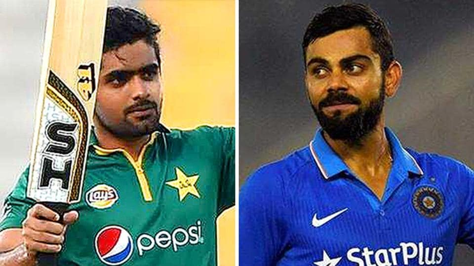Pakistan's Babar Azam and India captain Virat Kohli are two of the top-ranked batsmen in ODIs currently.