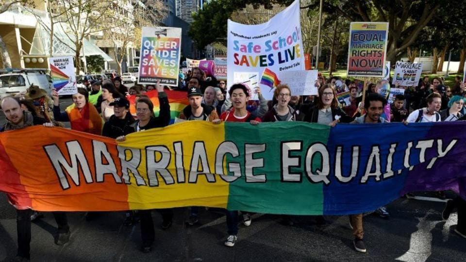 Same-sex marriage is supported by 61 percent of Australians, a 2016 Gallup opinion poll showed, but the issue has fractured the government and damaged Turnbull's standing with voters.