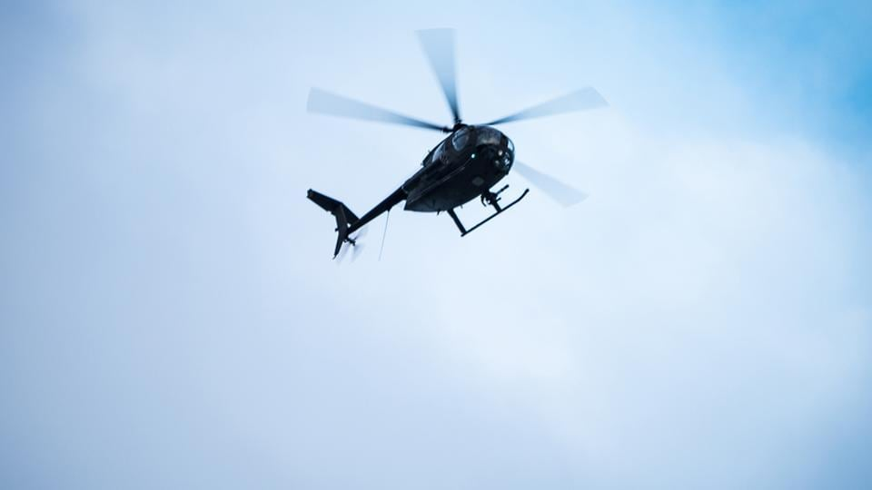 Adrian Pogmore used the South Yorkshire Police helicopter to capture graphic scenes of sex and sunbathing.