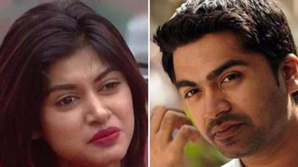 On August 2, Simbu had a Twitter chat with with choreographer Sathish on Bigg Boss Tamil contestants Oviya and Gayathri, in which he had praised Oviya.