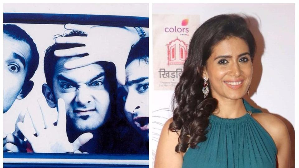 Actor Sonali Kulkarni played the role of Pooja in the film Dil Chahta Hai (2001).