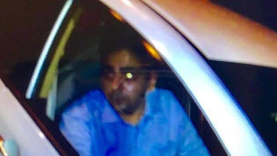 The photo of the alleged accused put up by Nagpaul.
