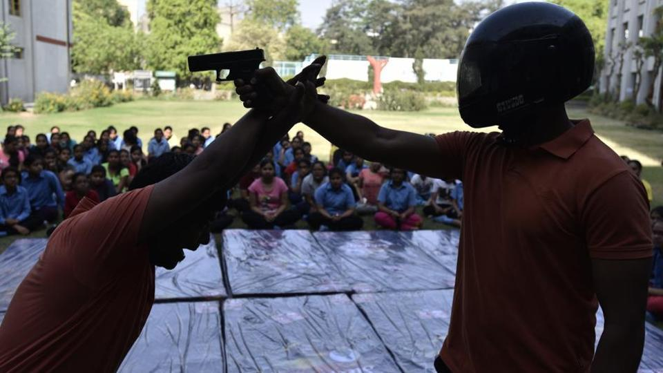 Many educational institutes in the country impart lessons in self-defence techniques. Bengal is one of very few states that has taken it up as a government policy.