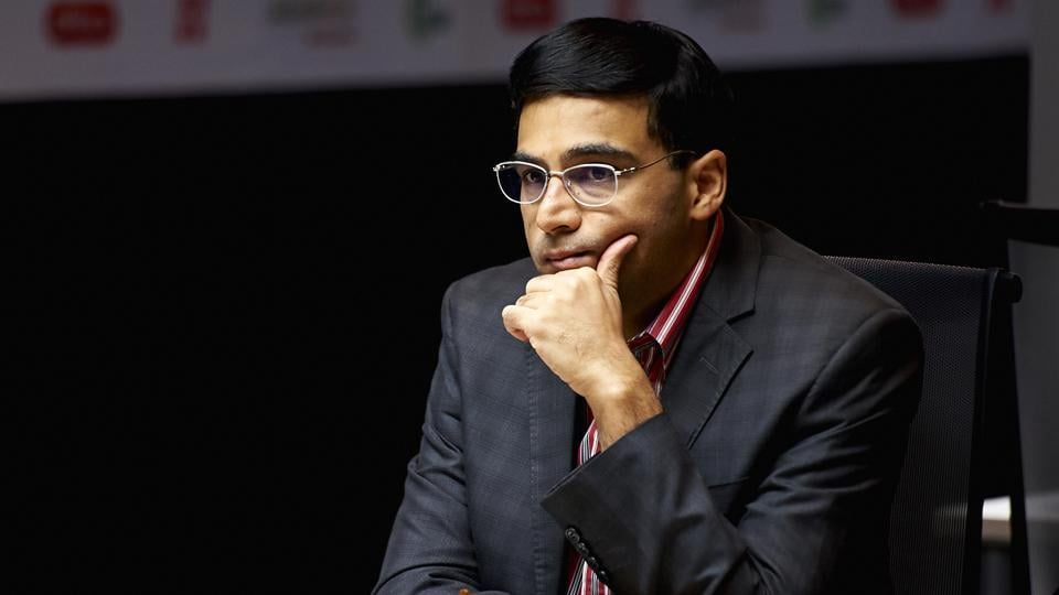 India's Viswanathan Anand is currently joint-second at the Sinquefield Cup.