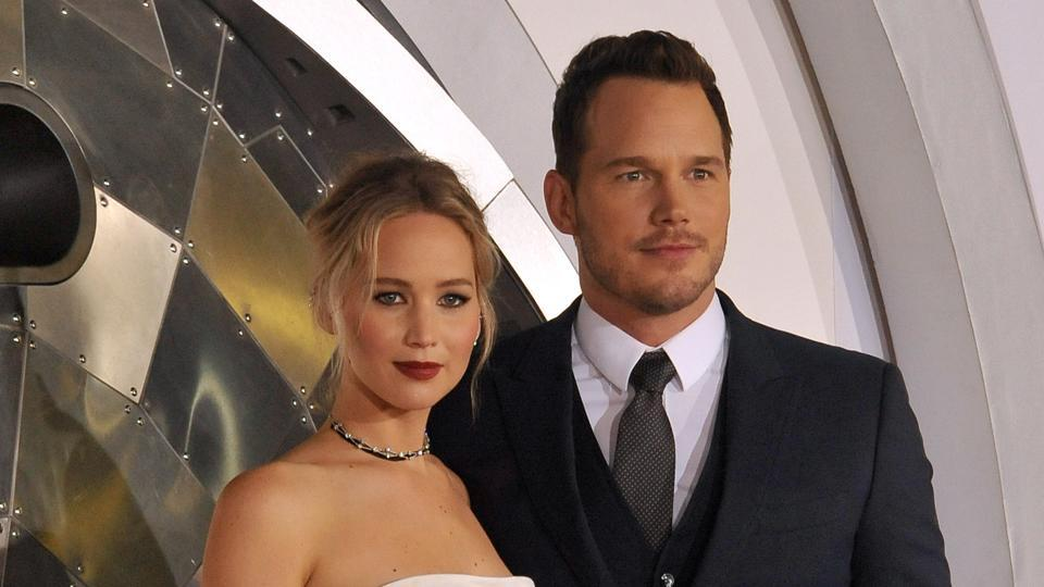 Chris Pratt and Jennifer Lawrence worked together in Passengers. Chris announced separation from wife Anna Faris on Saturday.