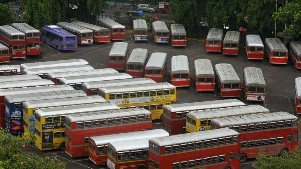 More than 36,000 BEST workers went on strike on Monday, affecting 29 lakh commuters.