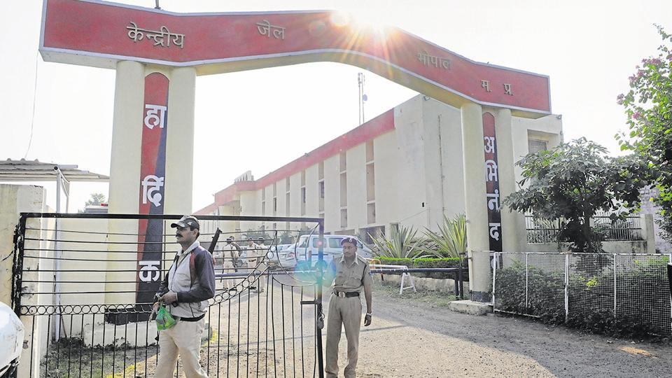 Bhopal central jail,Children,Faces stamped
