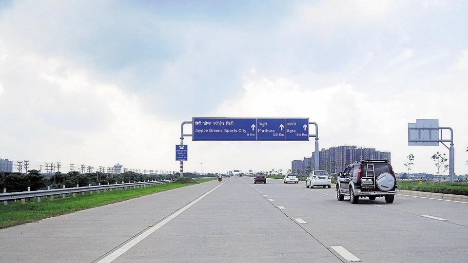 A shot of the Yamuna Expressway stretch which is a preferred drive route among Delhiites.