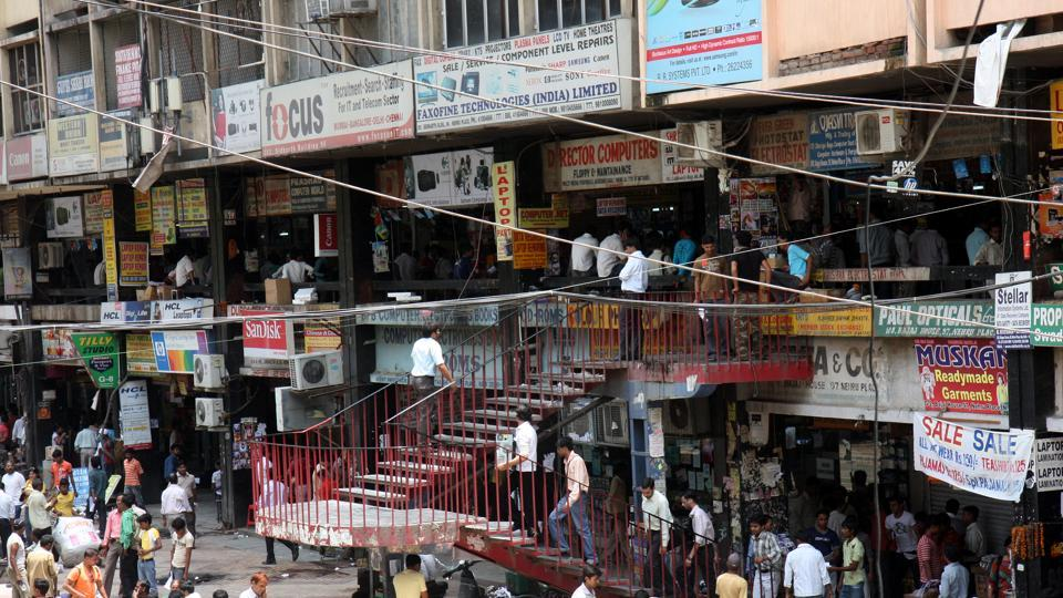 The civic body will give a particular colour to the markets in South Delhi which are popular for selling technological goods such as Nehru Place (above) and Bhikaji Cama Place