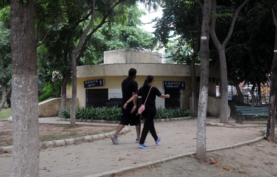 Parks lack basic amenities,Gurugram,Haryana
