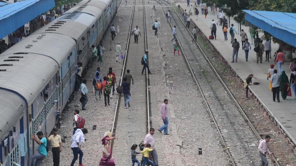 A 22-year-old man and 12-year-old girl jumped in front of a train in outer Delhi's Narela.