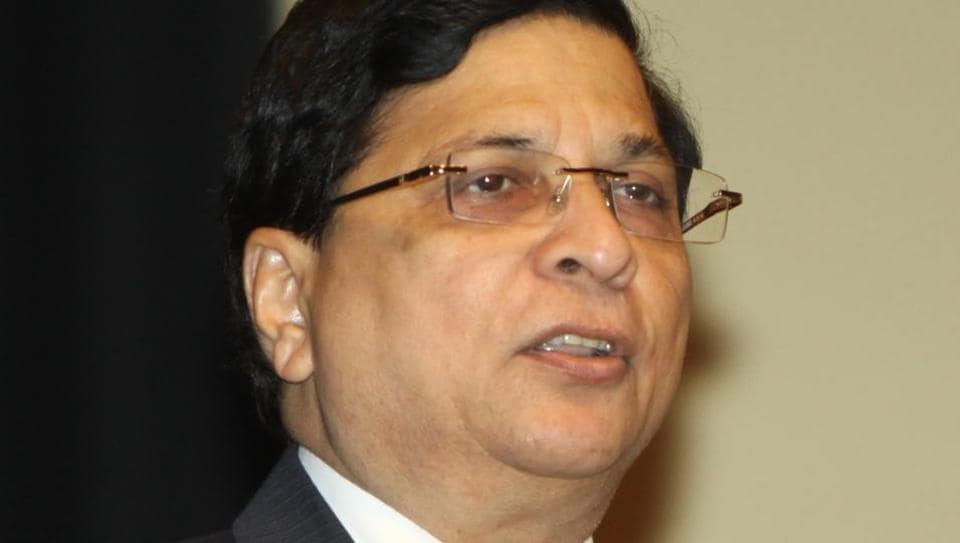 Justice Dipak Misra at the National Law University in Dwarka, New Delhi.