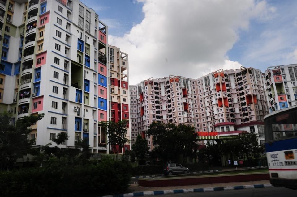 An upcoming smart city project in Kolkata