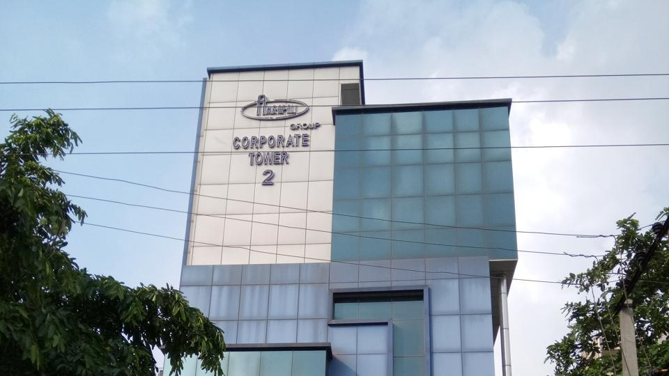 The Amrapali Group's corporate office Tower 2 in Sector 62.