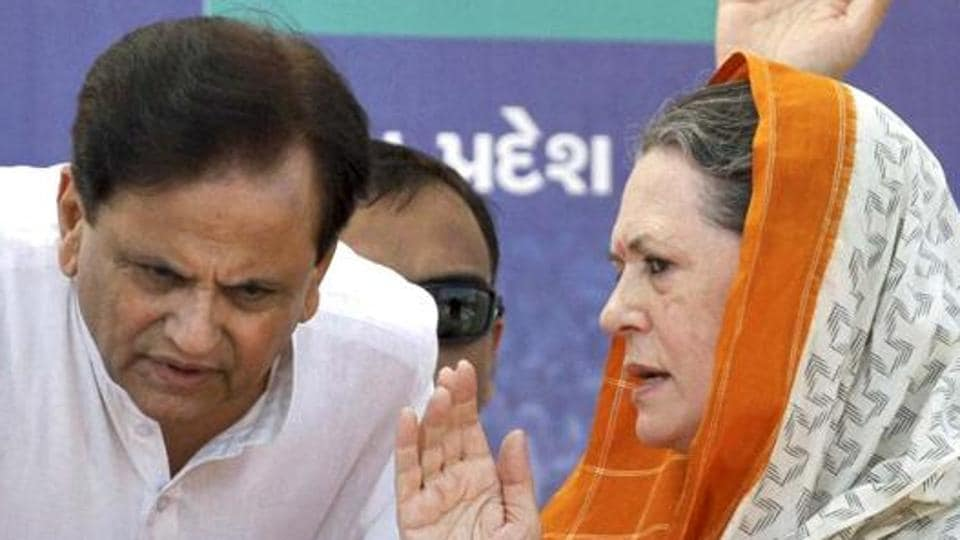 Defeat in the Rajya Sabha polls from Gujarat would be a big setback for Ahmed Patel (left) and Congress president Sonia Gandhi.