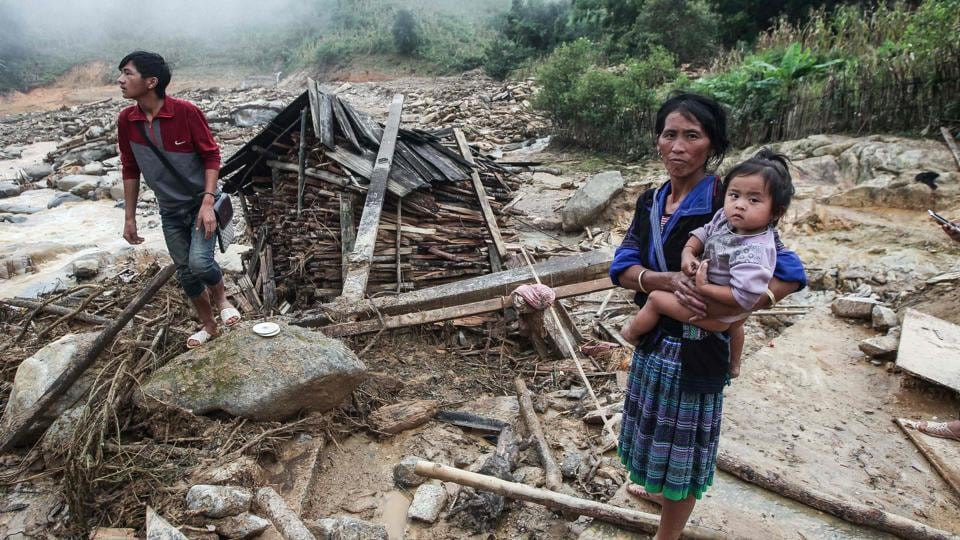 The death toll is expected to rise in the aftermath of the natural disaster as local authorities rush to search for those still missing in the debris. (AFP)
