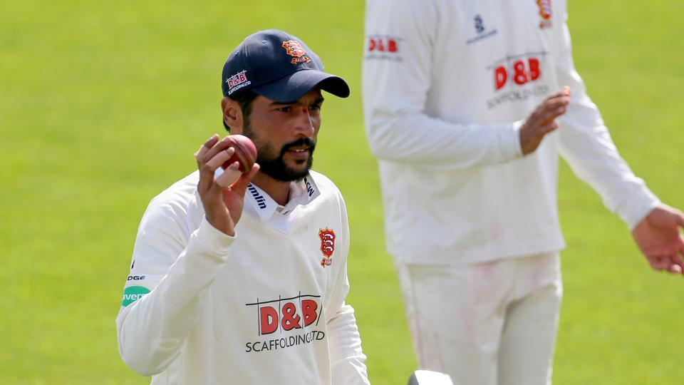 Mohammad Amir finished with the figures of 10/72 in just his second County Championship match for Essex.