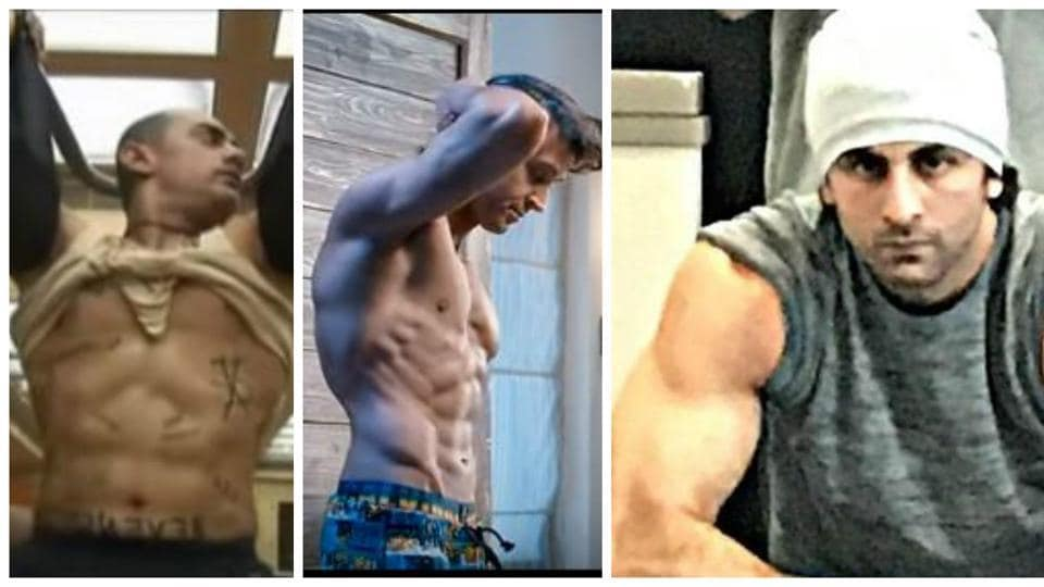 A number of industry A-listers have gone to great lengths to transform their physique to fit into their film roles.