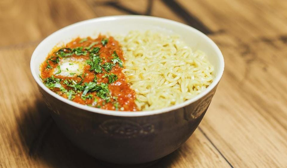 You can fuse Maggi noodles with pav bhaji for an unconventional dish.