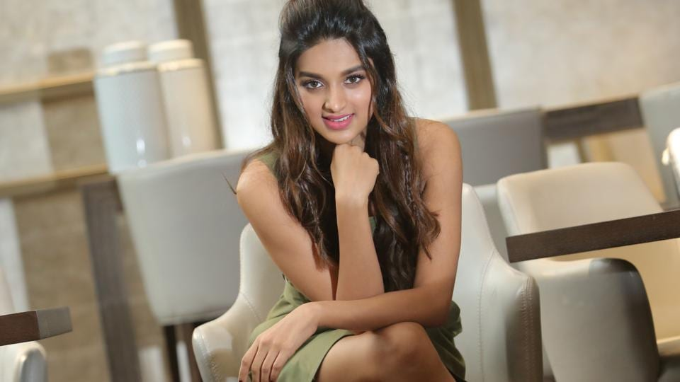 Actor Nidhhi Agerwal says that she has never bothered about people who say mean things to her.