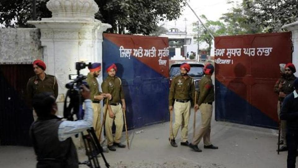 Nabha jail,CISF,Central Industrial Security Force