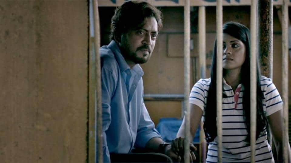 Irrfan Khan in a still from No Bed of Roses, which he also produced.