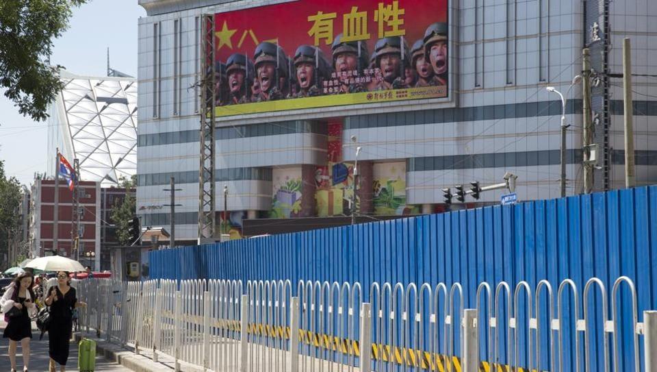 Indian soldiers Doklam,Doklam standoff,China