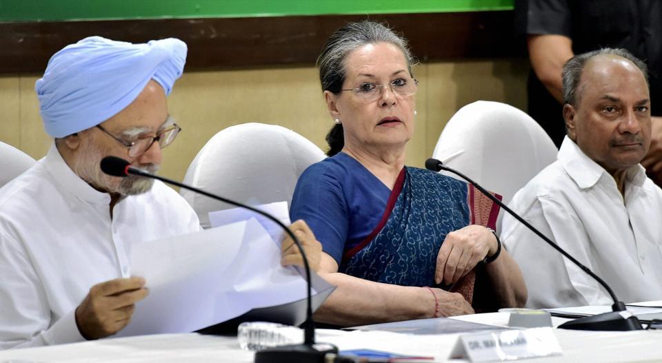 sonia gandhi,congress president,Cong-BJP