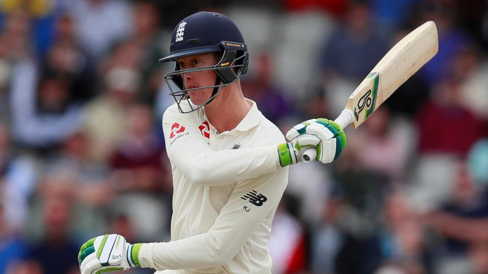 England's Keaton Jennings has come under heavy criticism from Damien Fleming.