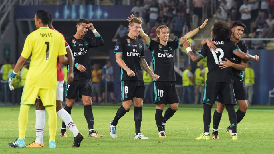 But Real Madrid were not to be denied and ran out 2-1 winners on the night.  (AFP)