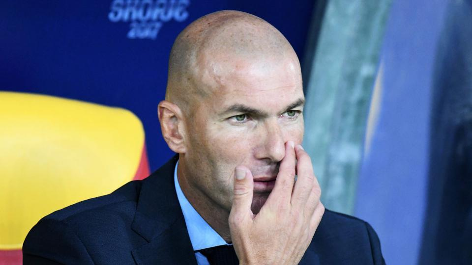 Zinedine Zidane's Real Madrid went into the tie as favourites, having become the first team to successfully defend the UEFA Champions League earlier this year.  (AFP)