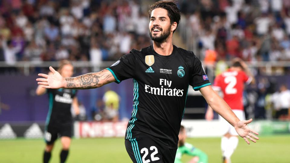 Isco then doubled Real Madrid's lead in the second half which all but ensured the victory for the Spanish champions.  (AFP)